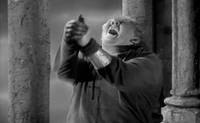 When Quasimodo Realized He Was aHunchback