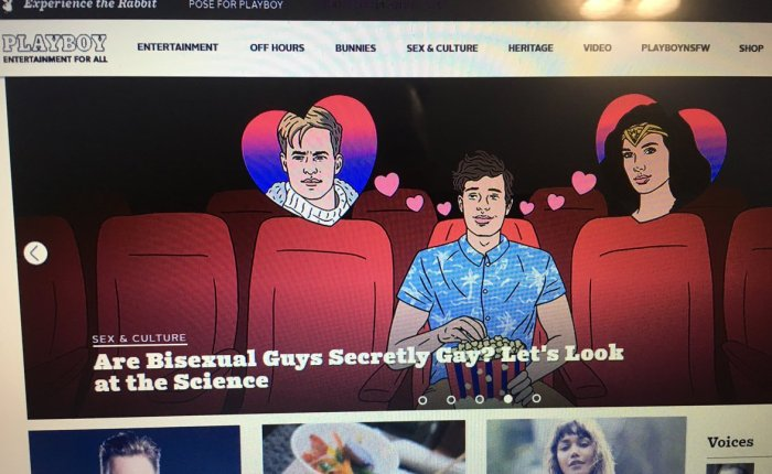 Playboy Magazine is Now Embracing the Gay Agenda