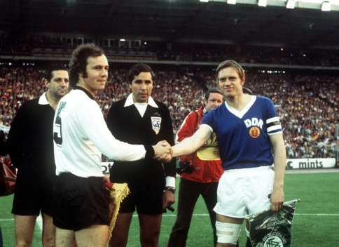 Soccer - World Cup West Germany 1974 - Group One - West Germany v East Germany